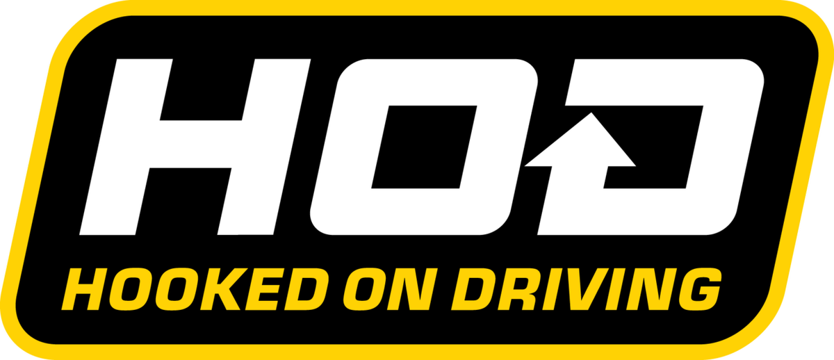 HOOKED ON DRIVING LOGO