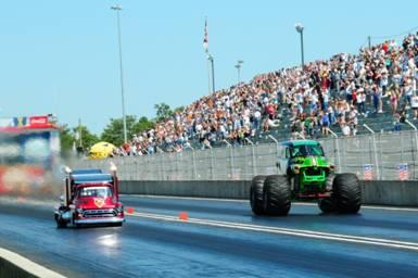 Grave Digger roars into Palm Beach International October 9 for Thunder Jam